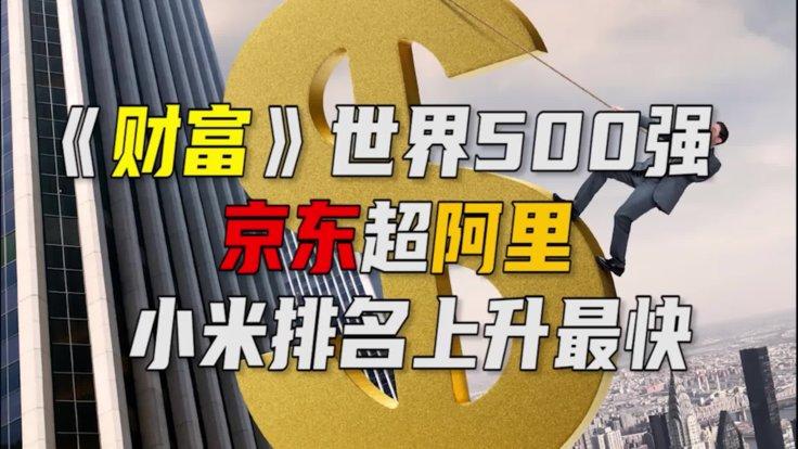 《财富》世界500强:京东超阿里成互联网排名第一企业