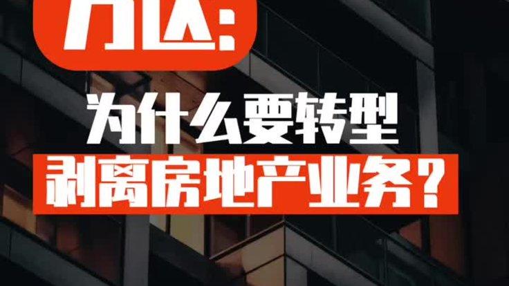 王健林:房AG电子游戏官网企业为何要转型?